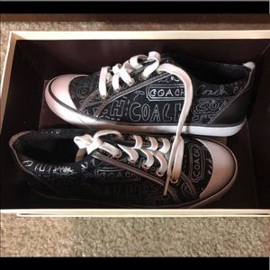 Womens Coach Sneakers Size 6